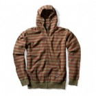 Striped Cobra Hood Oxblood/Army