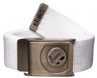Web Belt White/Silver